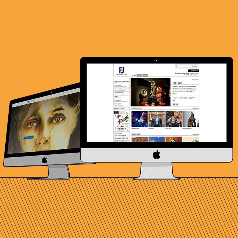 Herontwerp webdesign