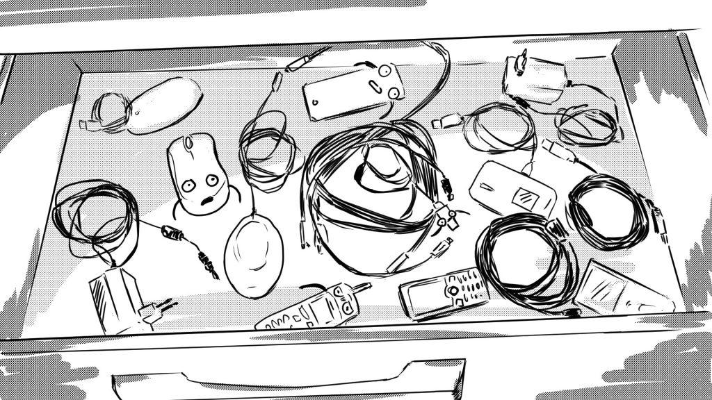 Storyboard Animatie Blipvert